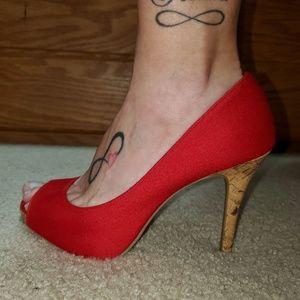 Christian Siriano Red Heels